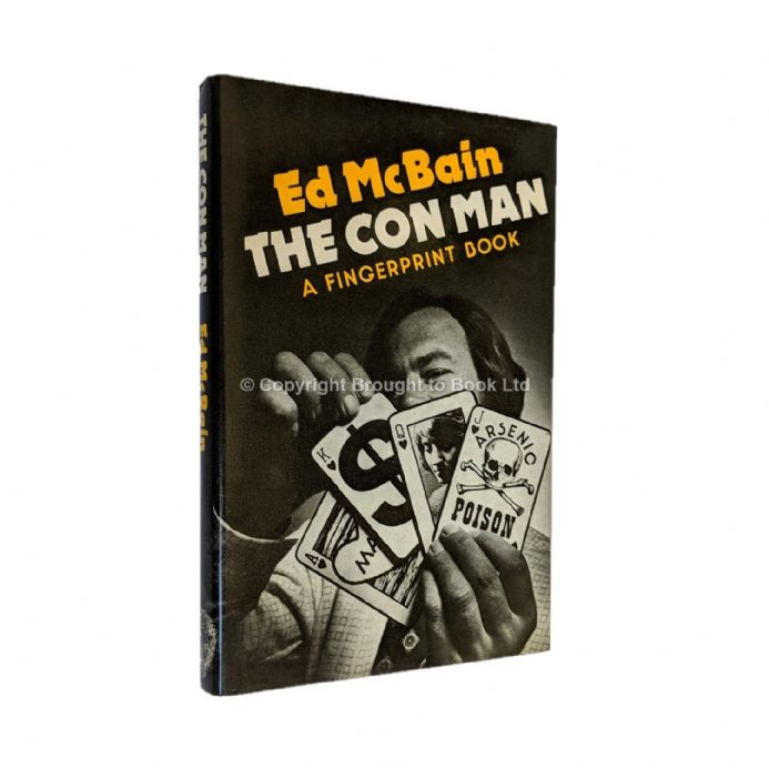 The Con Man Signed by Ed McBain​​​​​​​ First Edition (first thus) Hamish Hamilton 1975